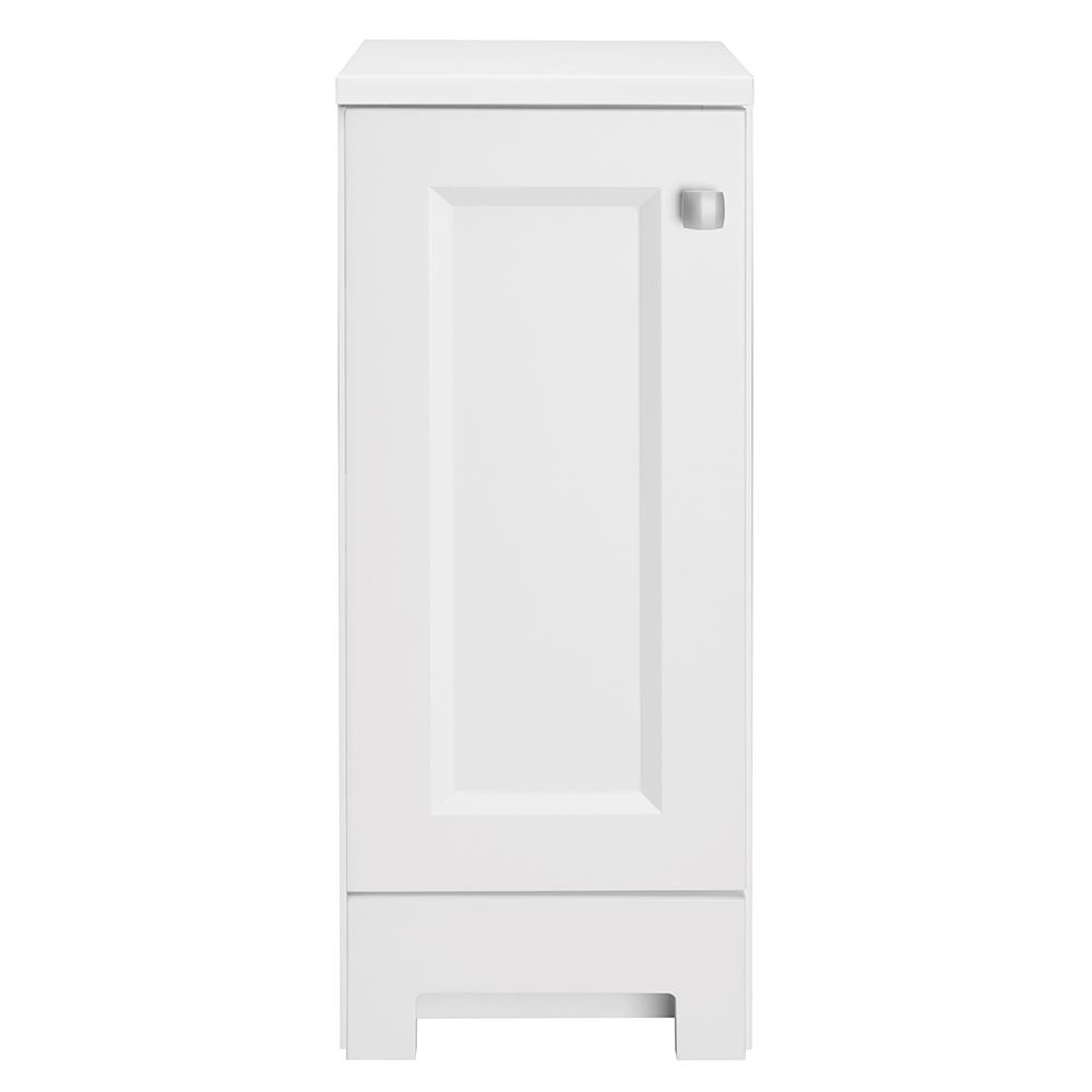 Glacier Bay Shaila 12 in. W x 13 in. D Hutch in White with White Top
