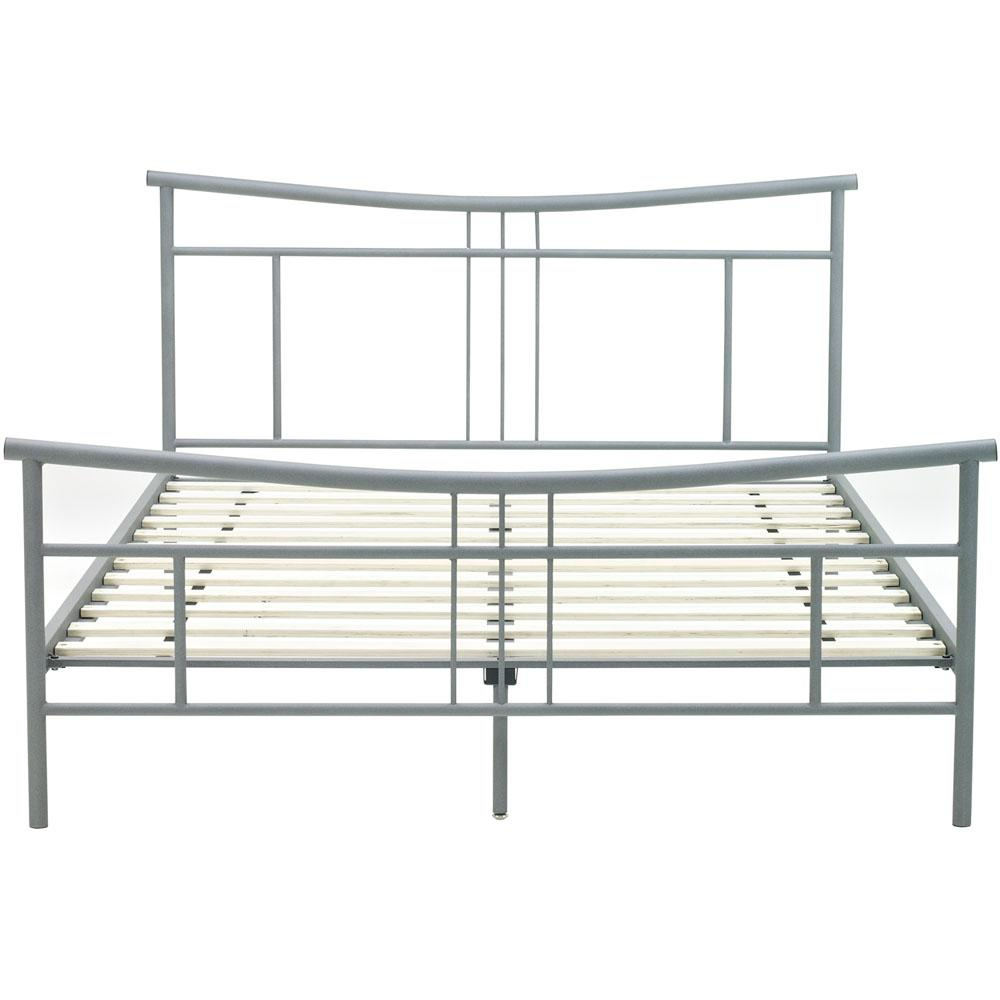 Chelsea Metal Queen Platform Bed