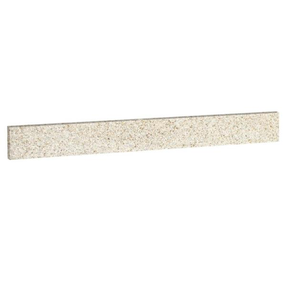31 in. Replacement Granite Backsplash in Golden Sand