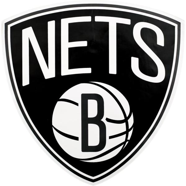 Applied Icon Nba Brooklyn Nets Outdoor Logo Graphic Large Nbop0303 The Home Depot