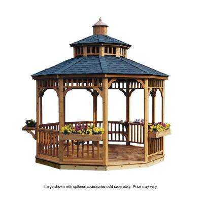 Gazebos sheds garages outdoor storage the home depot for Abri mural hardtop gazebo