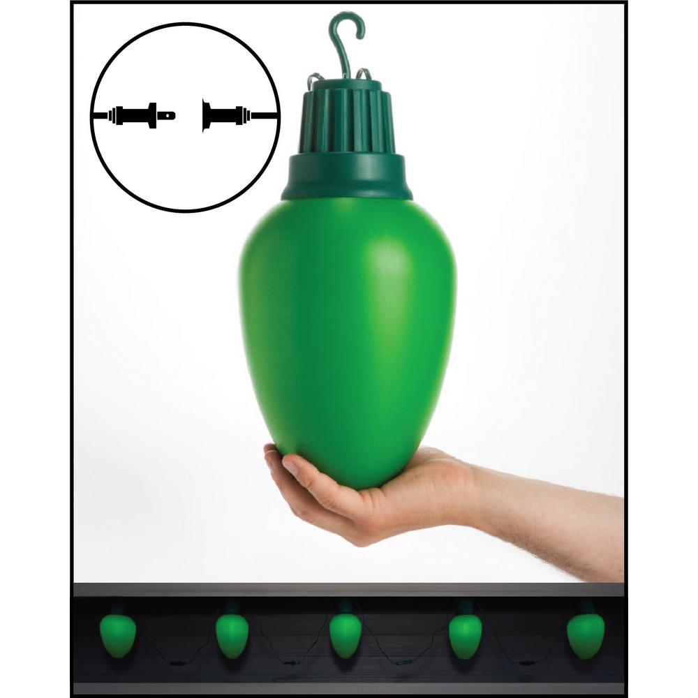 LED C9 - Green