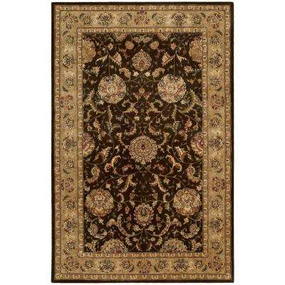 2000 Brown 6 ft. x 9 ft. Area Rug