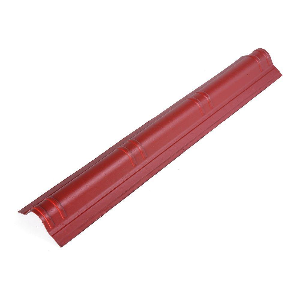 41.5 in. x 7 in. Classic Red Slim Cap