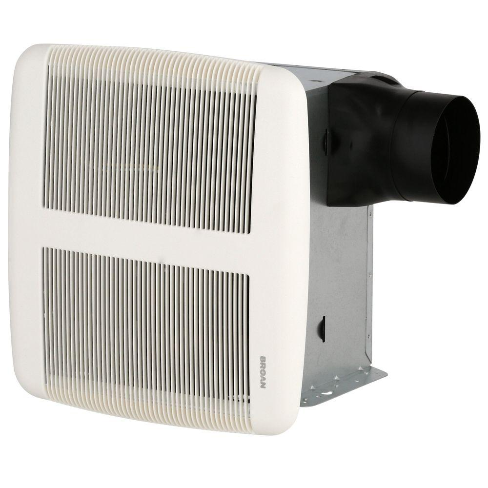Broan Sensonic 110 Cfm Ceiling Bathroom Exhaust Fan With Stereo Speaker And Bluetooth Wireless Technology