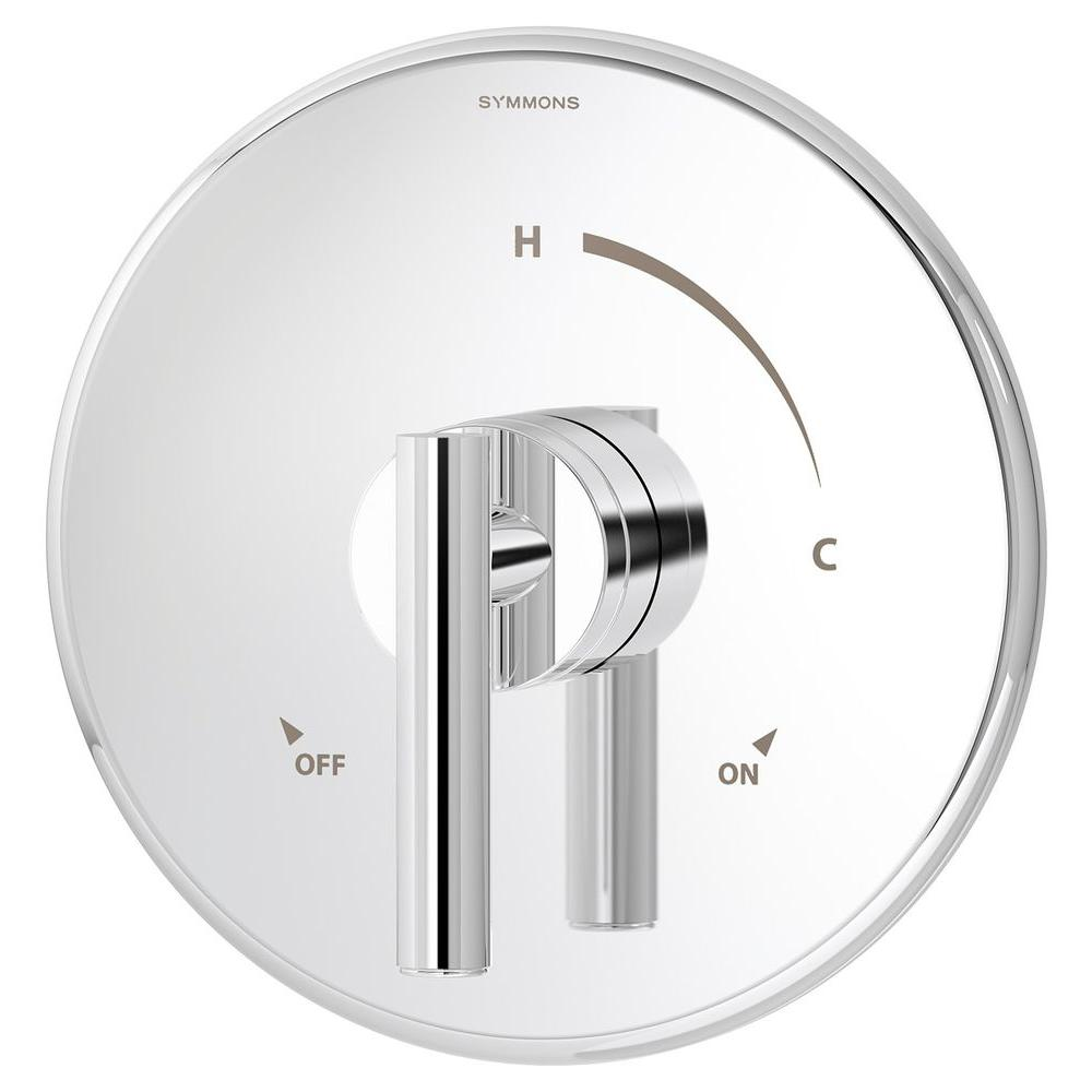 Symmons Dia 1-Handle Shower Valve Trim in Chrome (Valve Not Included)