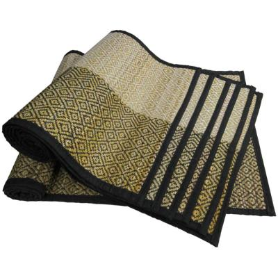 Multi-Color Hand Crafted Table Mat, Placemat and Table Runner (Set of 6)