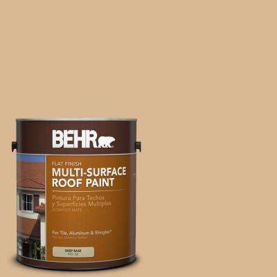 1 gal. #RP-17 Sundance Flat Multi-Surface Roof Paint