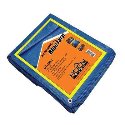 20 ft. x 20 ft. All Purpose Blue Tarp (6-Pack)