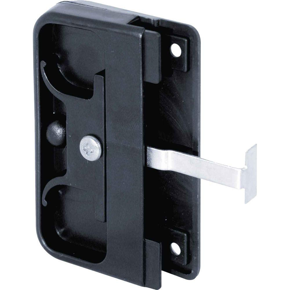 Plastic Sliding Screen Door Pull with Sliding Latch
