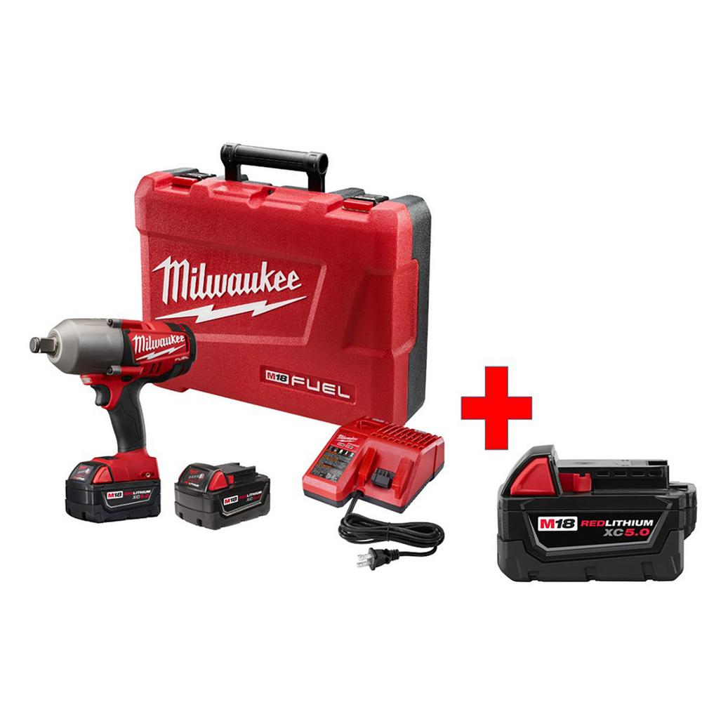Acme Tools is offering a free HD Battery ($) with select M18 Fuel Kits: It looks like this is for the following kits: Chainsaw Table Saw Circular Saw Sawzall Free battery automatical.