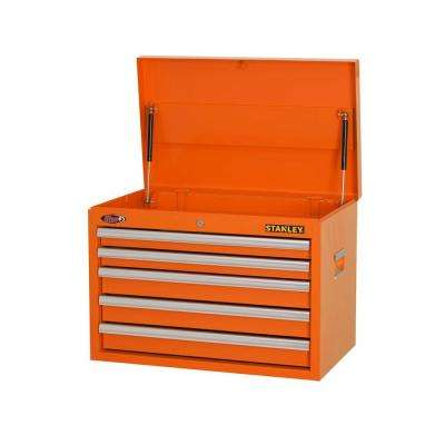26 in. W 5-Drawer Tool Chest, Orange