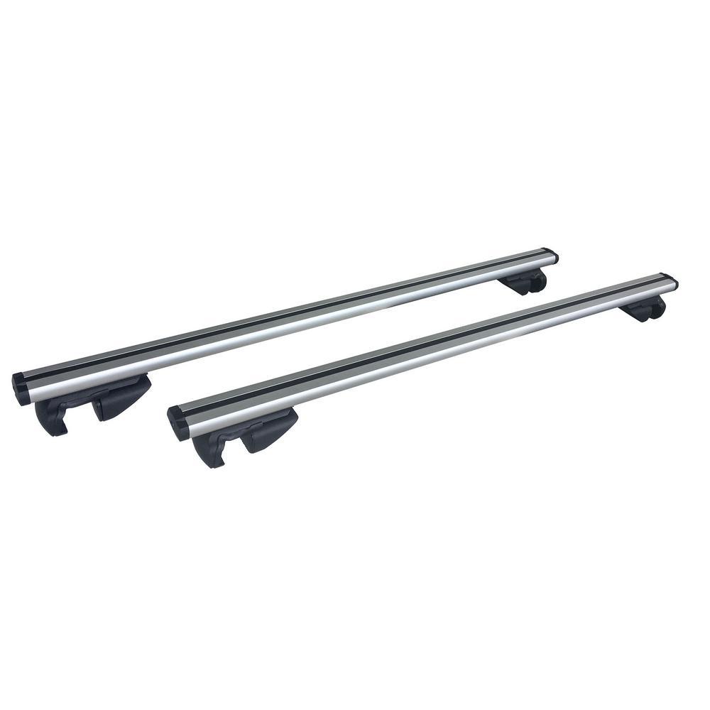 54 in. Universal Aluminum Roof Bars for Full Size SUVs (Set of 2)
