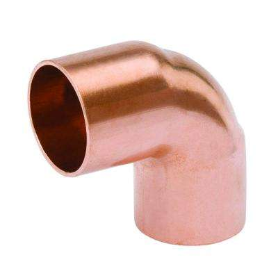 3/4 in. Copper Pressure 90-Degree C x C Elbow