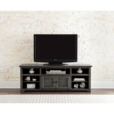 Sonoma 70 in. Storm Wood TV Stand Fits TVs Up to 75 in. with Storage Doors