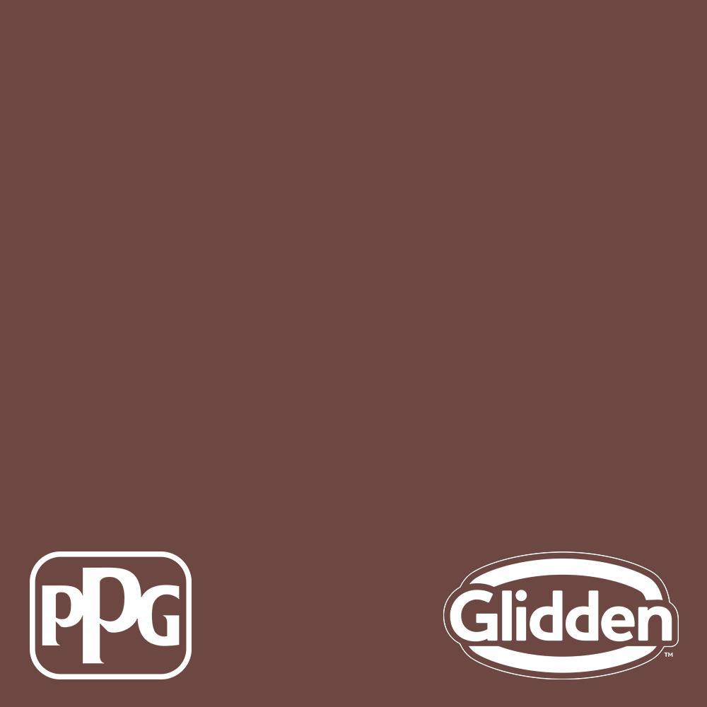 8 oz. PPG1060-7 Warm Mahogany Flat Interior Paint Sample