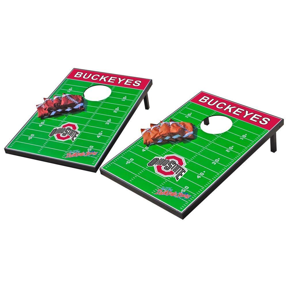 Wild Sports Ohio State Buckeyes Tailgate Cornhole Toss
