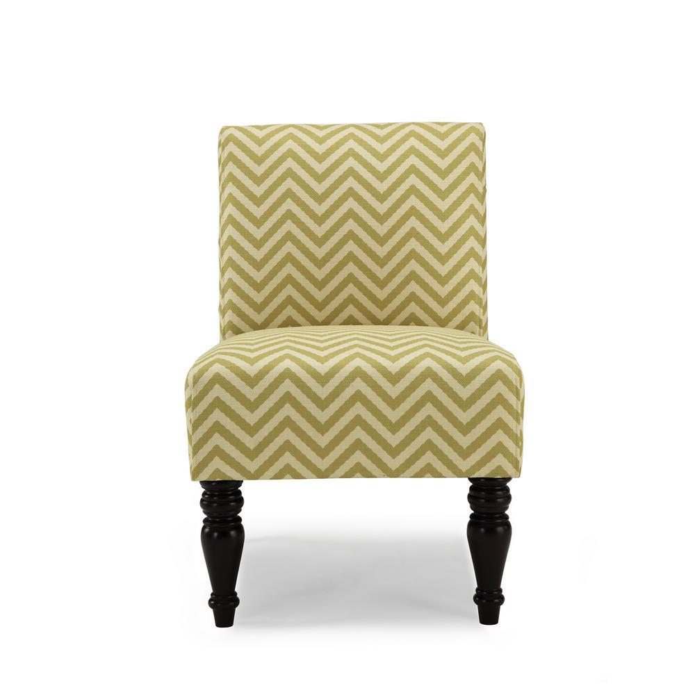 Hampton Citron Ziggi Accent Chair AC-HMP-ZIG-CT