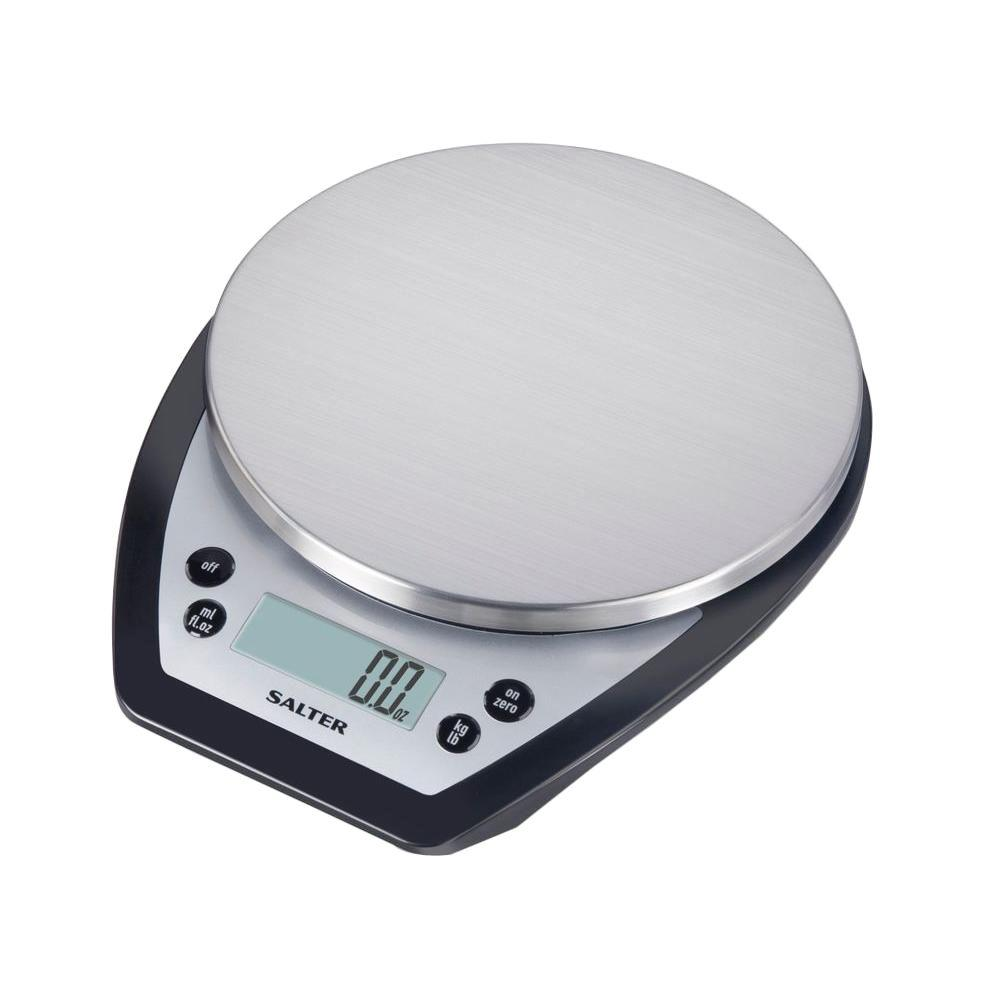 taylor digital aquatronic kitchen scale in stainless steel - Digital Kitchen Scale