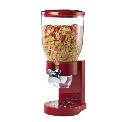 The Original Indispensable Single Dry Food Dispenser in Red