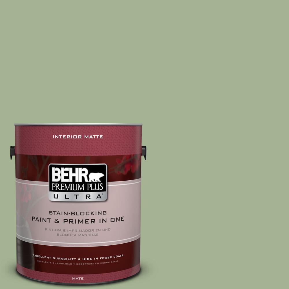 1 gal. #PPU11-6 Willow Grove Flat/Matte Interior Paint