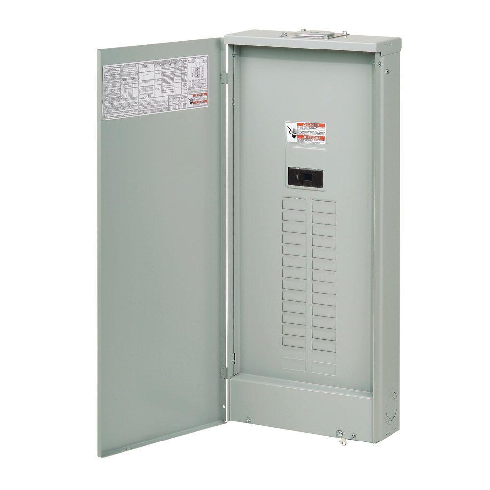 Eaton BR 150 Amp 30-Space 30-Circuit Outdoor Main Breaker Loadcenter ...