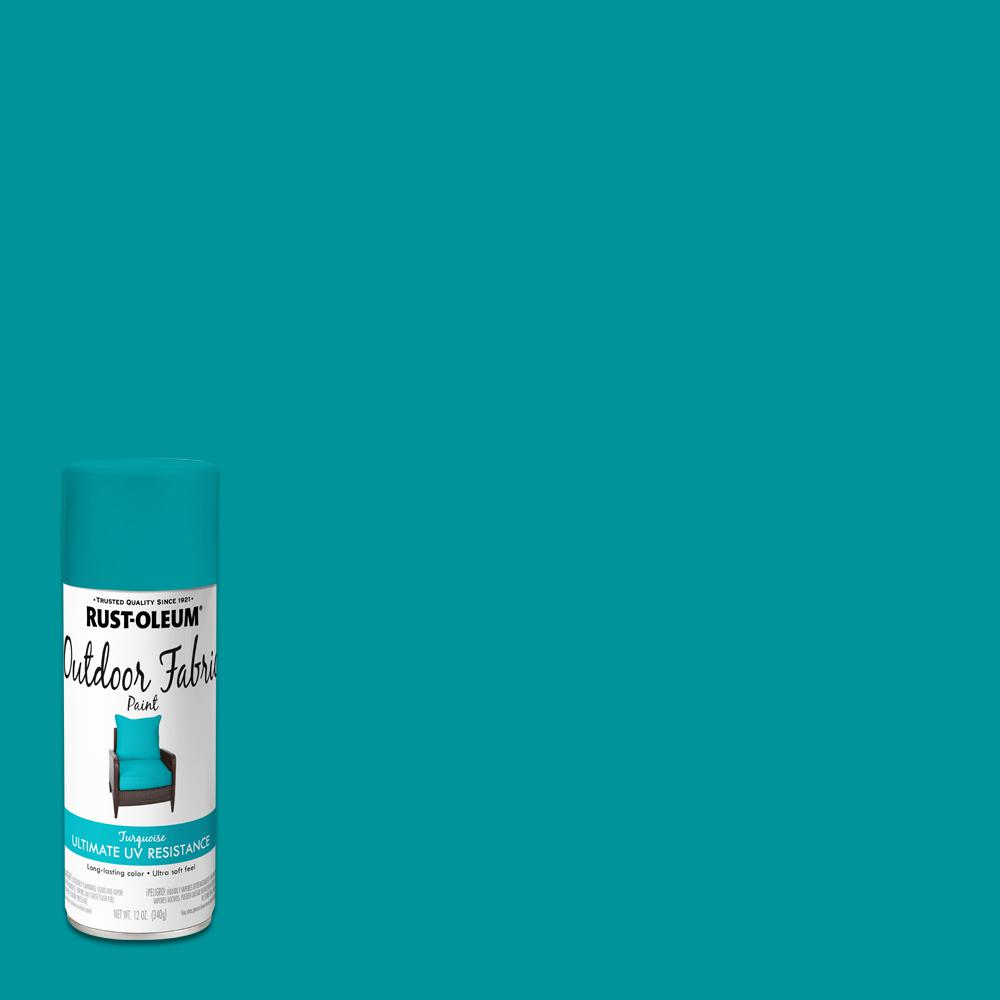 Turquoise Outdoor Fabric Spray Paint