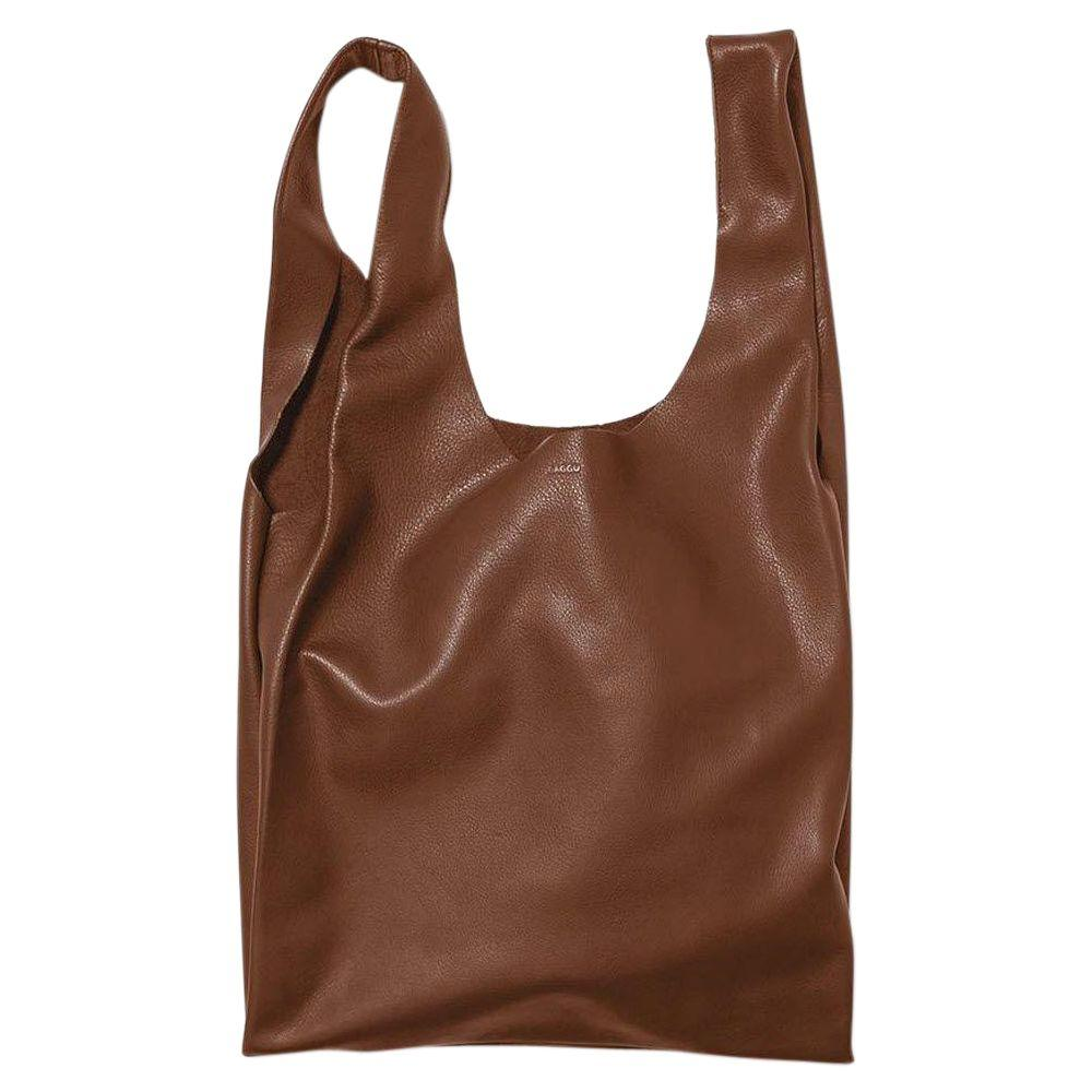Home Decorators Collection Leather Tote Bag in Molases