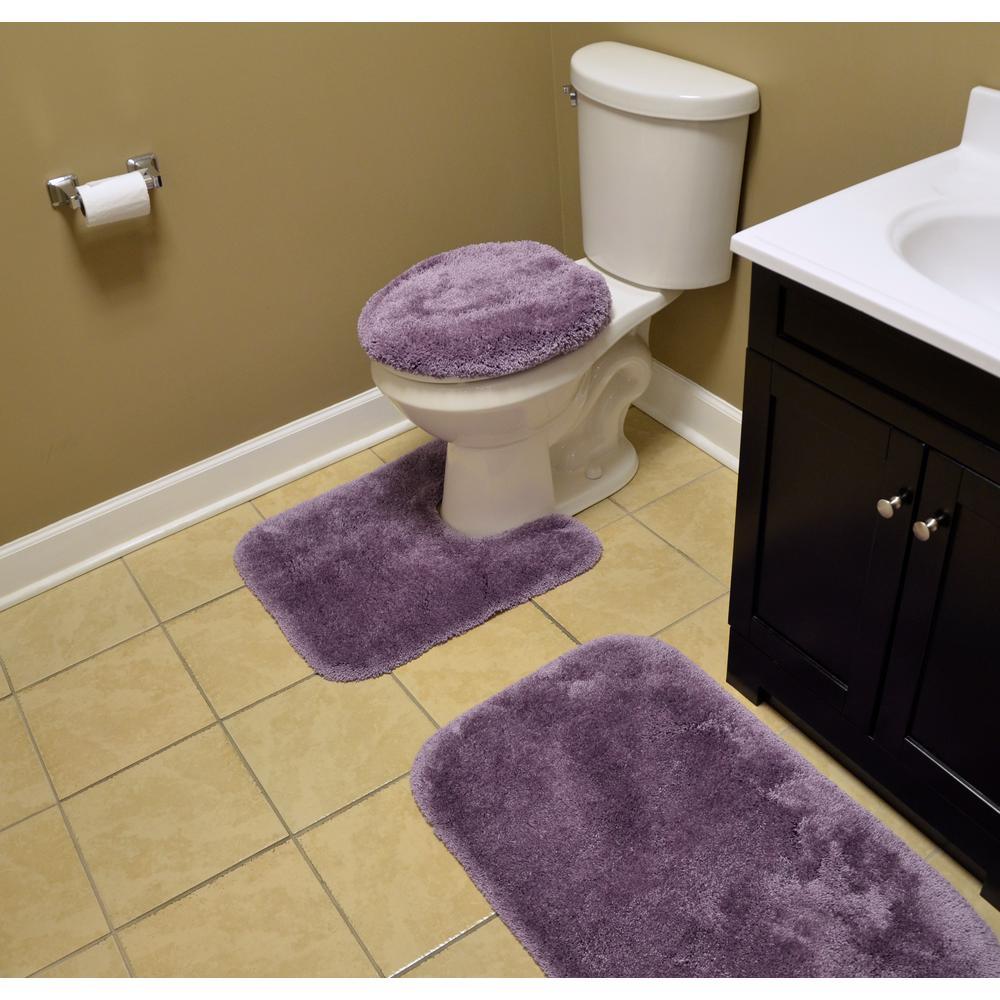 Terrific Garland Rug Finest Luxury Purple 3 Piece Washable Bathroom Rug Set Andrewgaddart Wooden Chair Designs For Living Room Andrewgaddartcom