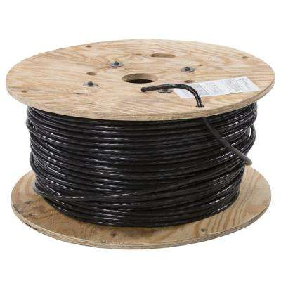 1000 ft. 2 Black Stranded CU USE-2 Cable
