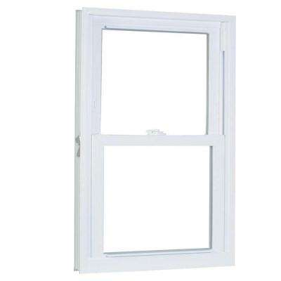 33.75 in. x 65.25 in. 70 Series Double Hung Buck PRO Vinyl Window - White