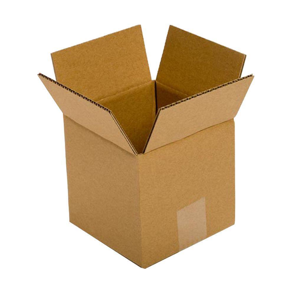 Pratt Retail Specialties 6 in. L x 6 in. W x 6 in. D Box (25-Pack)
