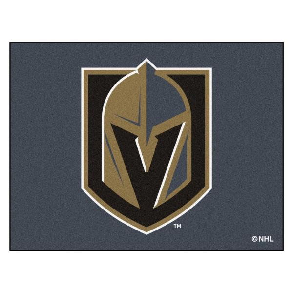 NHL - Vegas Golden Knights 34 in. x 43 in. All Star Mat Area Rug