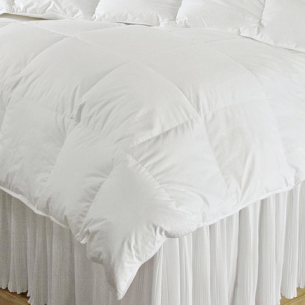 Year Round Warmth White Full Down Alternative Comforter