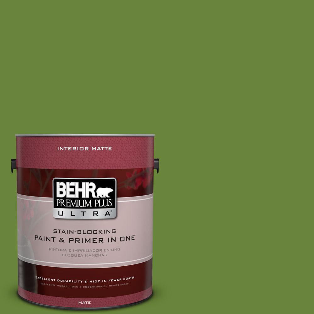 1 gal. #P370-7 Sun Valley Matte Interior Paint
