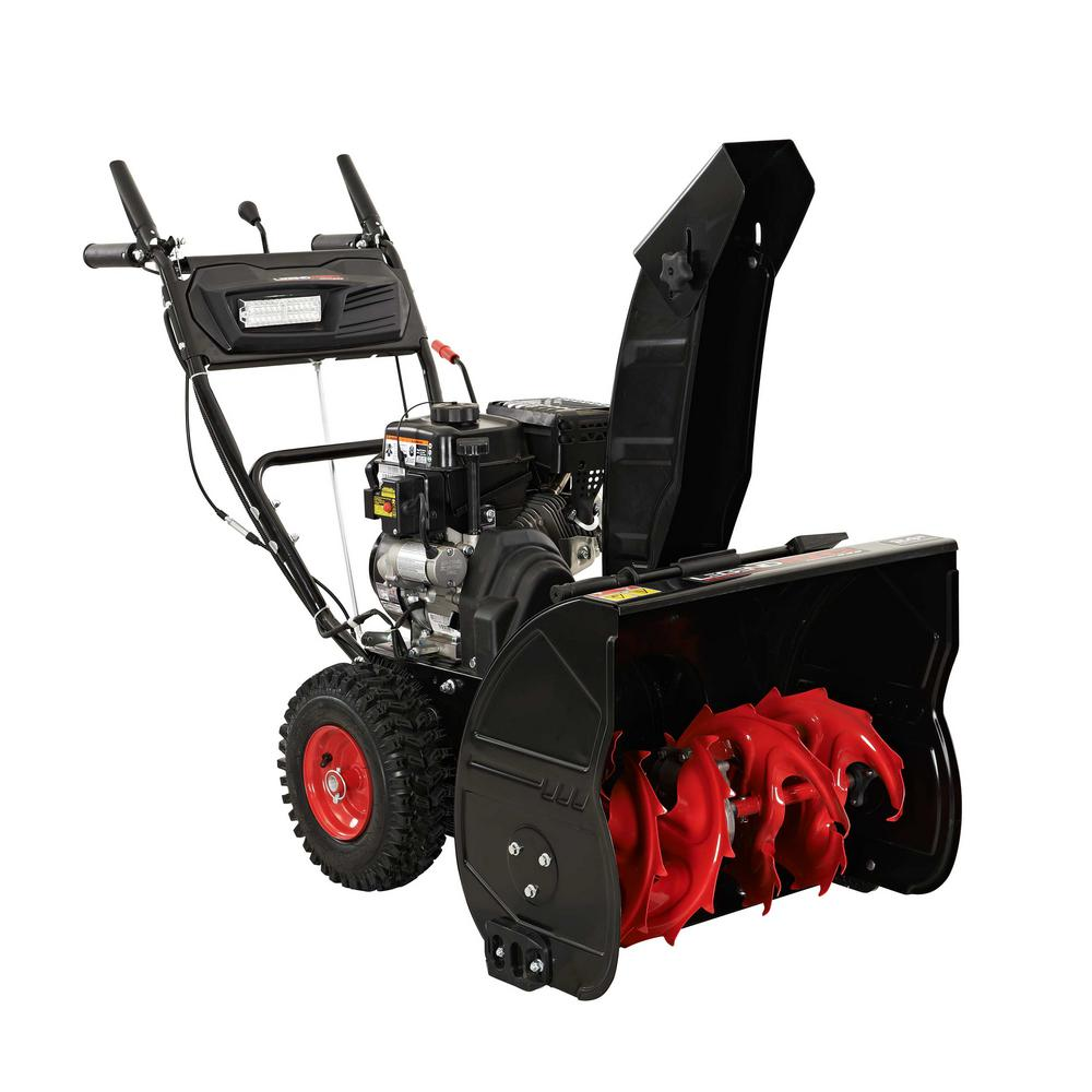 LegendForce 24 in. Two-Stage Gas Snow Blower with Electric Start