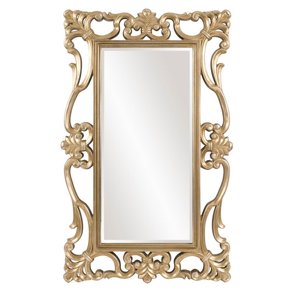 Whittington Ornate Silver Mirror