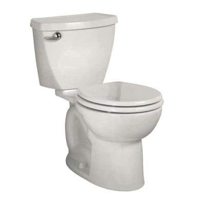 Cadet 3 Powerwash Tall Height 10 in. Rough 2-Piece 1.28 GPF Single Flush Round Toilet in White, Seat Not Included