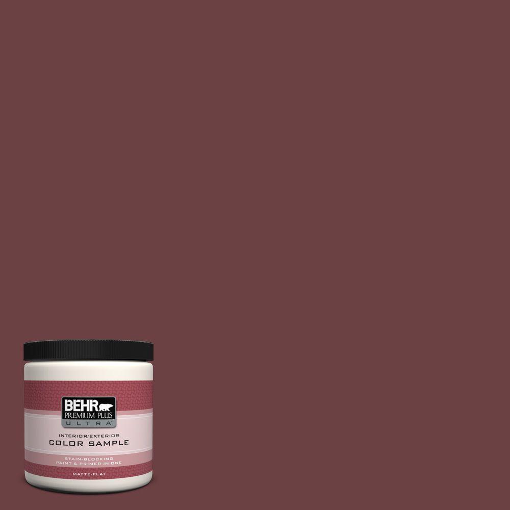 8 oz. #BIC-50 Deep Claret Interior/Exterior Paint Sample