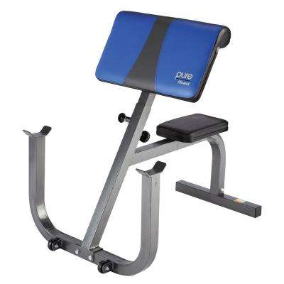 Preacher Curl Weight Bench