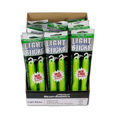 24-Pack Green 8-Hour Light Stick (2-Pack)