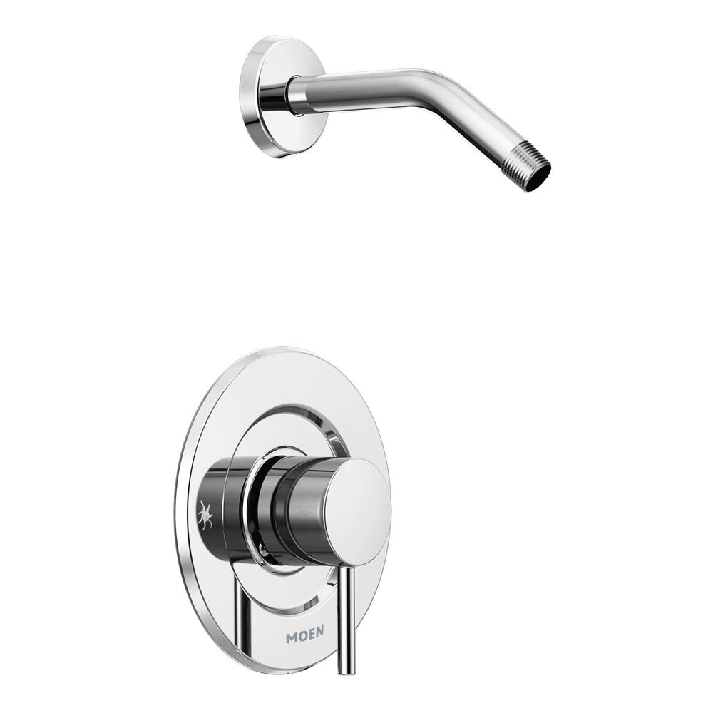 MOEN Align Moentrol 1-Handle Shower Only Faucet Trim Kit in Chrome (Valve and Shower Head Not Included)