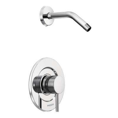 Align Moentrol 1-Handle Shower Only Faucet Trim Kit in Chrome (Valve and Shower Head Not Included)