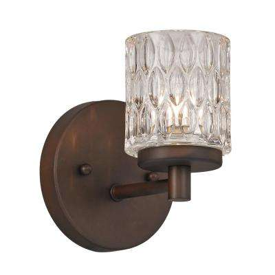 Bayou 1-Light Rubbed Oil Bronze Sconce