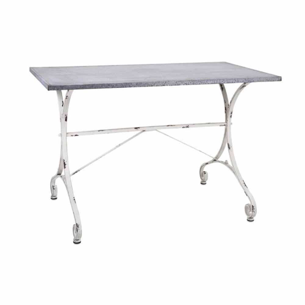 Katie Grey Galvanized Table