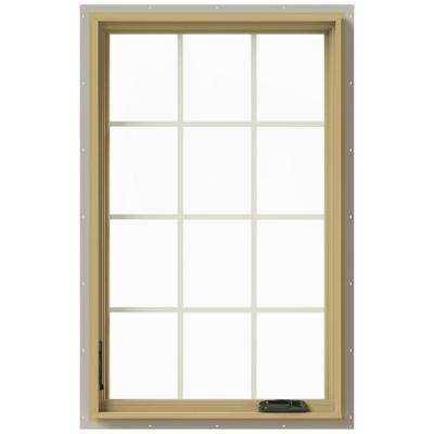 30 in. x 48 in. W-2500 Left Hand Casement Aluminum Clad Wood Window
