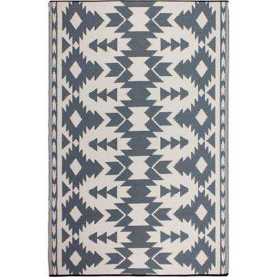 Miramar - Indoor/ Outdoor Gray (4 ft. x 6 ft. ) - Area Rug