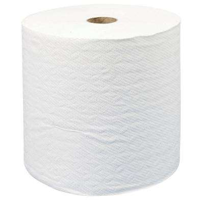 7.87 in. x 950 ft. Non-Perforated Hard-Roll Paper Towels (6 Roll)