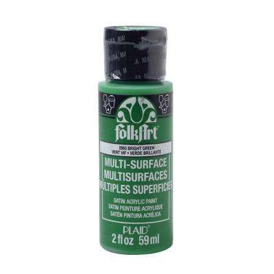 2 oz. Bright Green Multi Surface Paint