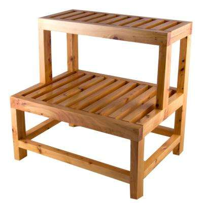 AB4402 20.5 in. x 20.5 in. Steps in Natural Wood